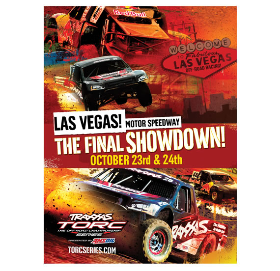 Los Angeles Motor Speedway Final Showdown Ad