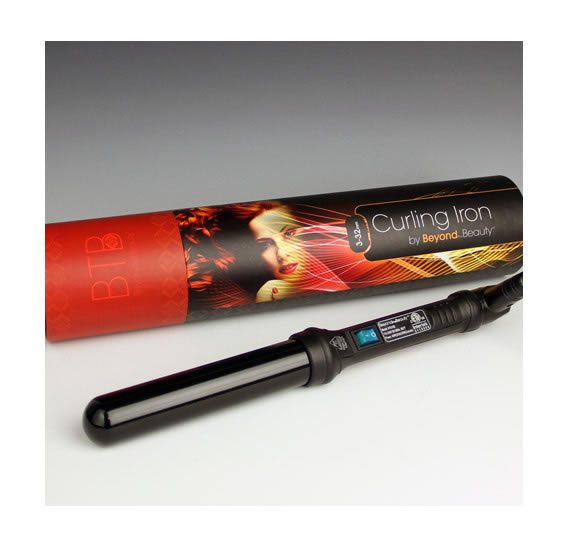 Curling Iron Packaging from Beyond the Beauty